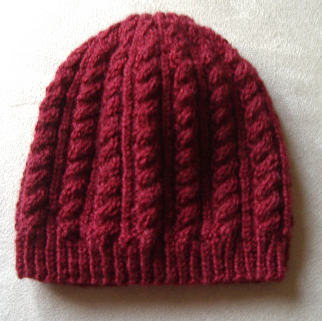 Online Knitting Patterns : Knitting Patterns Online - Knitted Beanie, Scarf and ...