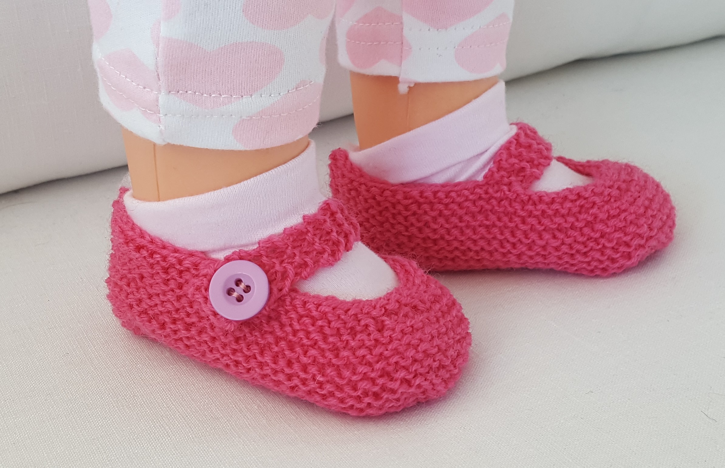 f58b5183e Knitting Patterns Online - Knitting Patterns For Baby Shoes - Katrina
